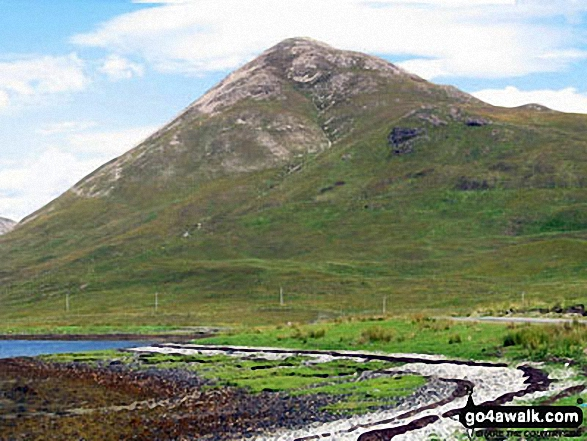 Beinn na Cro from Loch Slapin near Torrin
