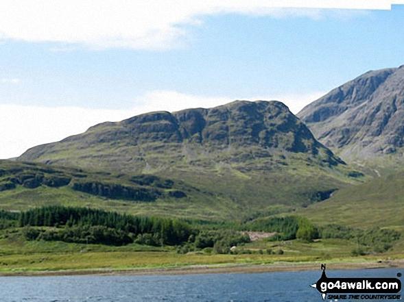 Walk h237 Boreraig, Suisnish and Camas Malag from Loch Cill Chriosd - Slat Bheinn from Loch Slapin near Torrin
