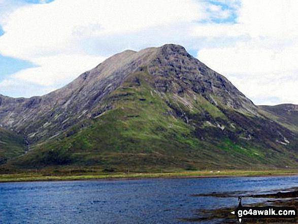 Garbh-bheinn (Skye) and Belig from Loch Slapin near Torrin