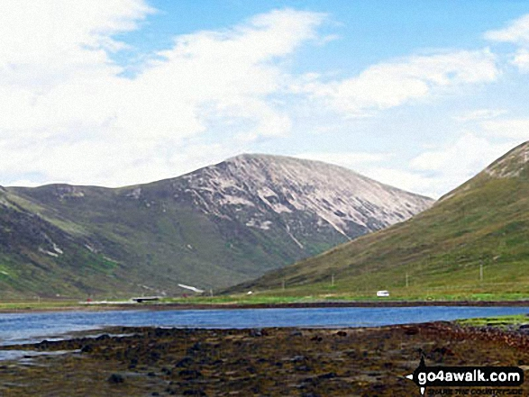Walk h237 Boreraig, Suisnish and Camas Malag from Loch Cill Chriosd - Glas Bheinn Mhor (Skye) from Loch Slapin near Torrin