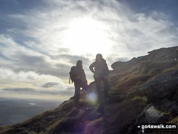 Approaching the top of Mayar