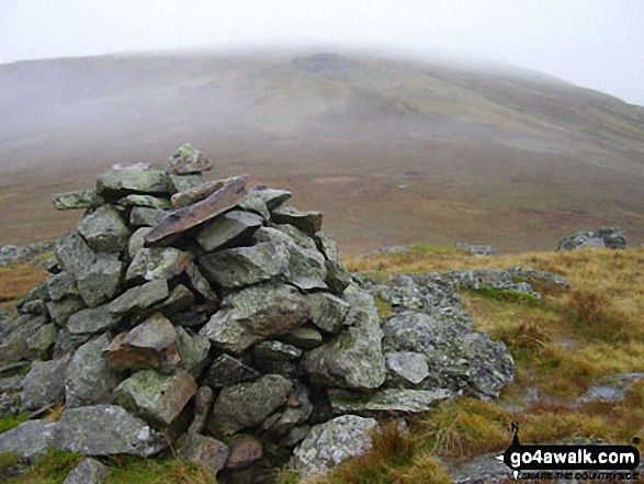 Low Saddle (Coldbarrow Fell) summit cairn