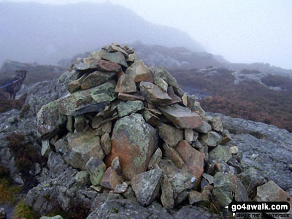 Great Crag summit cairn