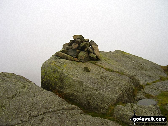 Eagle Crag summit cairn