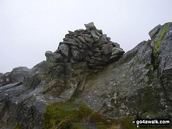 Sergeant's Crag summit cairn