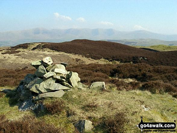 Lambrigg Fell summit cairn