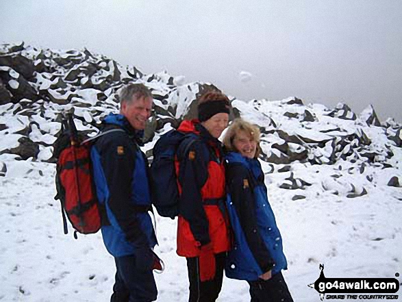 Me and my friends on Glyder Fach