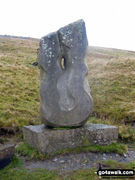 The Tyne Head Sculpture by Gilbert Ward marking the source of the South Tyne