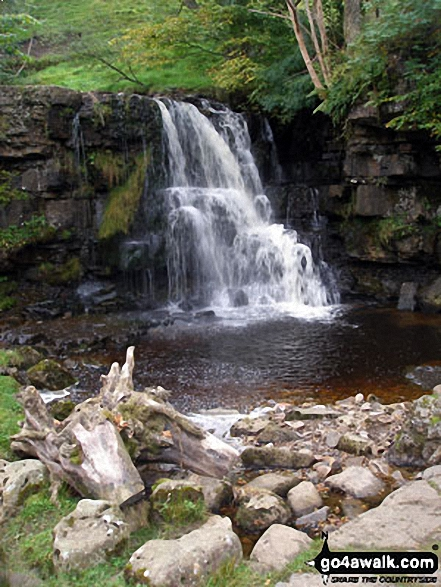 East Gill Waterfall, Keld