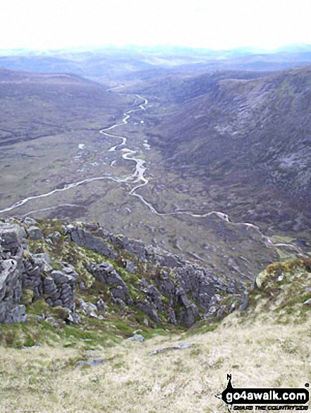 Glen Dee from The Devil's Point