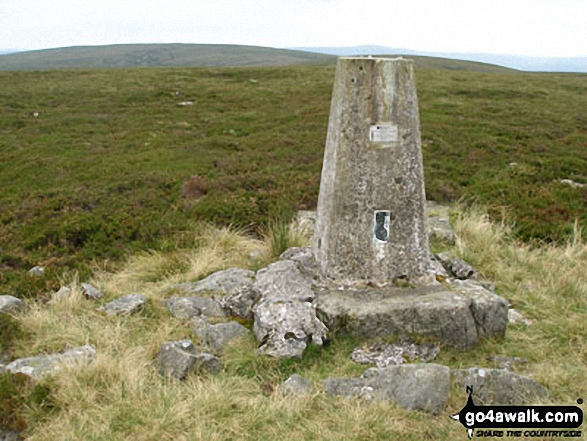 Water Crag (Arkengarthdale) summit trig point