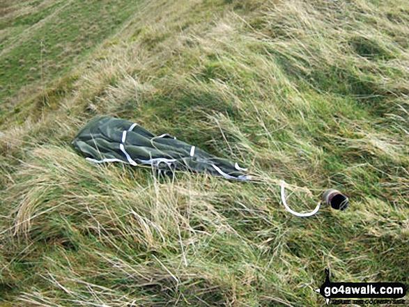 Discarded ordnance on Little Fell (Burton Fell)