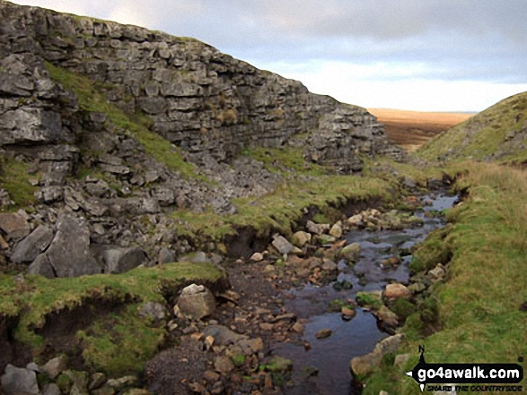 Swarth Beck at the head of Scordale