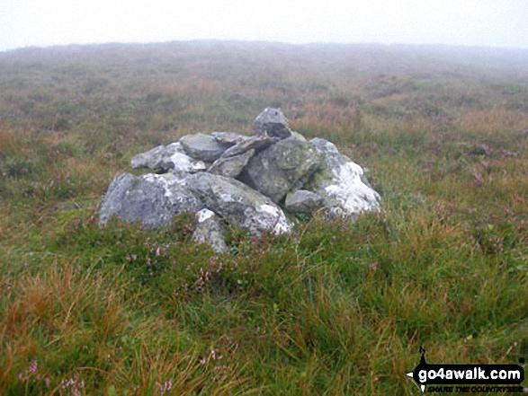 Carnedd Llechwedd-llyfn summit cairn