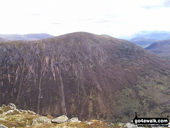 Carn a' Mhaim from The Devil's Point