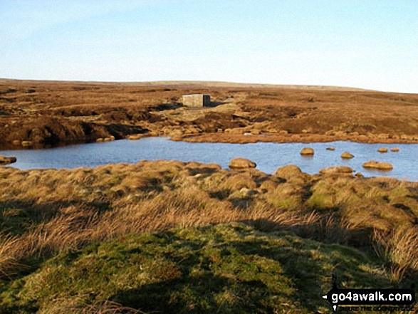Great Rundale Tarn and Bothy on Backstone Edge (Dufton Fell)