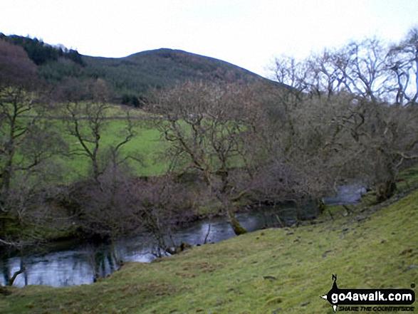 Moffat Water with Hunterheck Hill beyond