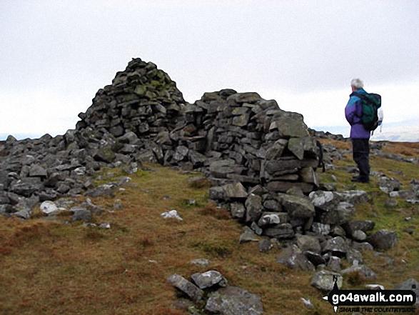 Melmerby Fell summit cairn