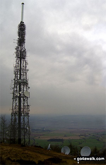 The Transmitter on the top of The Wrekin