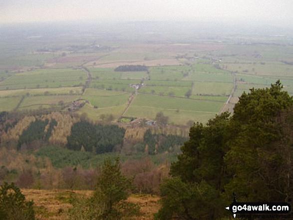 Looking Northwest from The Wrekin