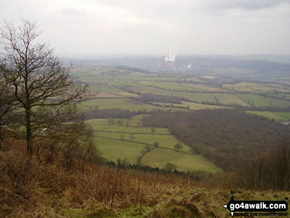 Looking East from The Wrekin