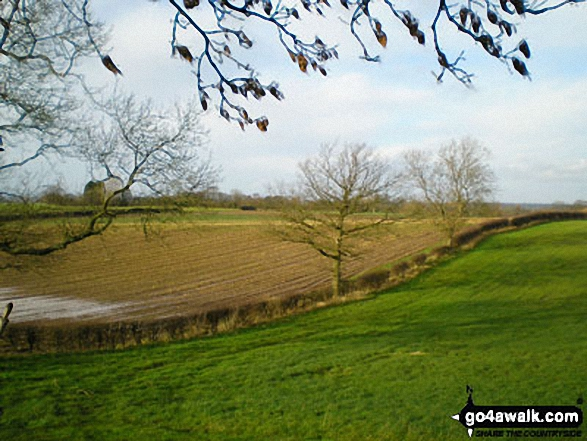 The Shropshire Countryside near Lee Brockhurst,