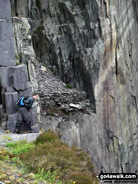 Don't look down - Llanberis Slate Mines