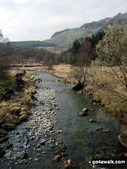 The River Duddon at Birks Bridge