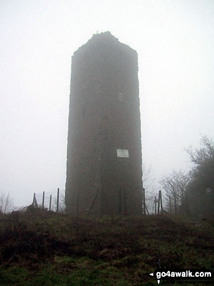 The Tower on the summit of Callow Hill, Wenlock Edge