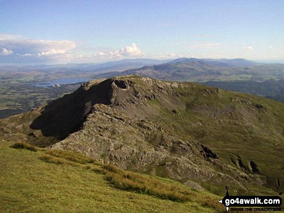 Craigysgafn and Moelwyn Bach from the summit of Moelwyn Mawr