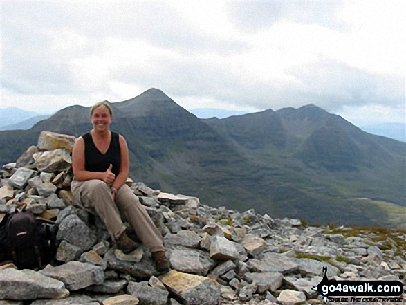Ruadh-stac Mor (Beinn Eighe) Photo by Mary King