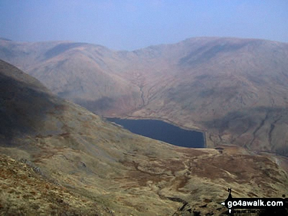 Kentmere Reservoir from Yoke