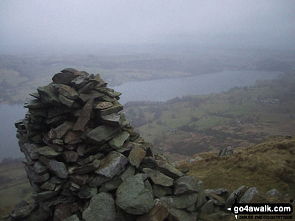 Ullswater from Whinney Crag near Arthur's Pike