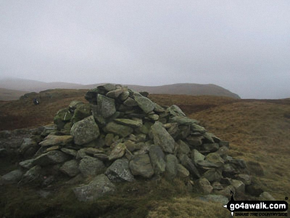 Walk c283 Arthur's Pike and Loadpot Hill from Howtown - Arthur's Pike summit cairn