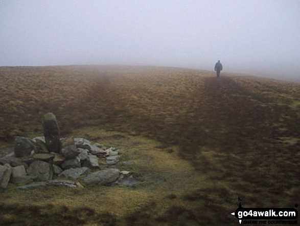 Walk Wether Hill walking UK Mountains in The Far Eastern Fells The Lake District National Park Cumbria    England