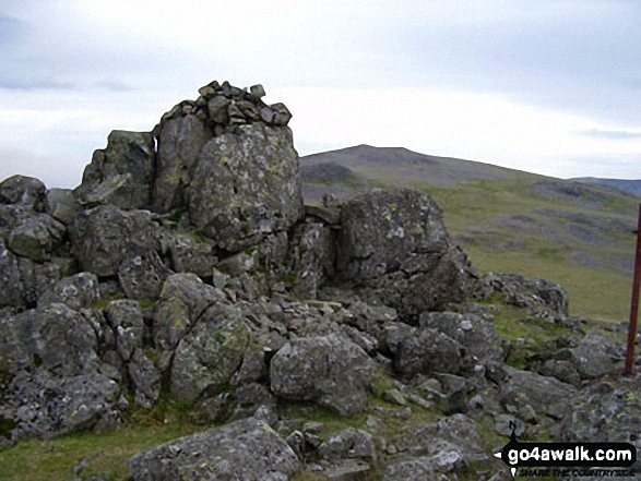 Kirk Fell (East Top) summit cairn