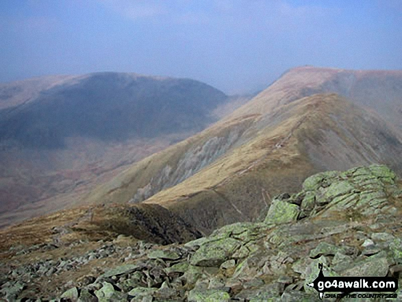 Froswick (right) and Red Screes (back) from Ill Bell