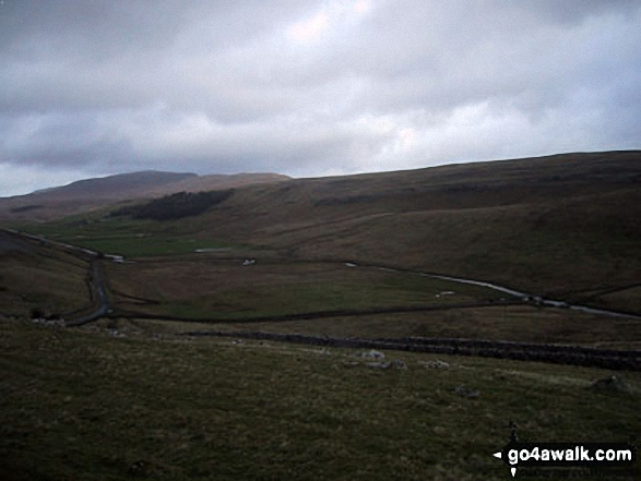 Whernside from Tow Scar Trig Point