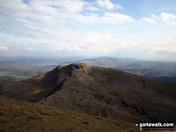 Moelwyn Bach seen from Craigysgafn
