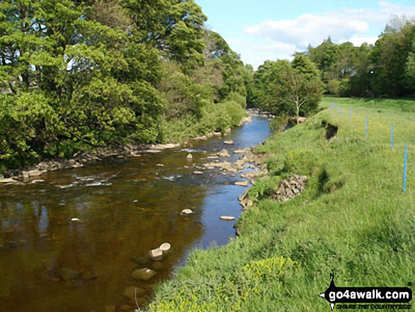 The River Wear in Weardale