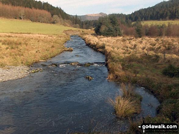 Afon Mynach above Pontarfynach / Devil's Bridge