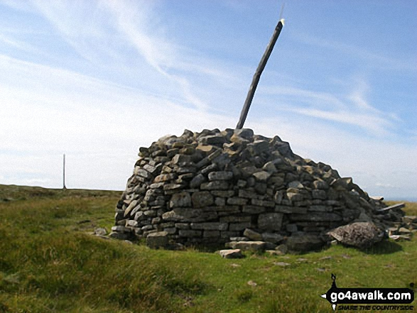 Killhope Law summit shelter