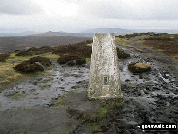 High Neb (Stanage Edge) summit trig point