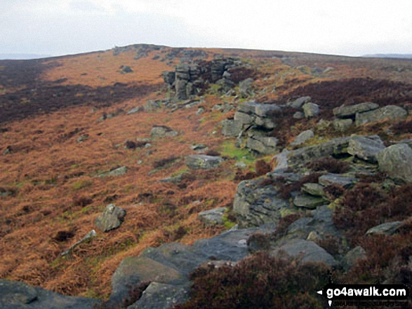Bamford Edge on Bamford Moor