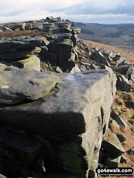 On Stanage Edge near High Neb (Stanage Edge)