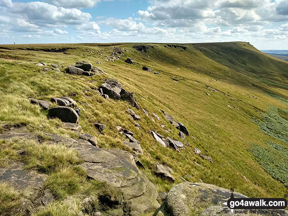 High Stones (Howden Moor) from Howden Edge