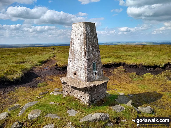 Outer Edge summit trig point