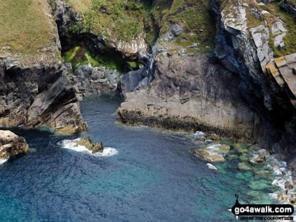 Walk co181 Rocky Valley and Tintagel Castle from Tintagel - Tintagel Bay