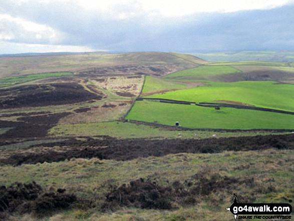 Durham Edge (Abney Moor) from Burton Bole End (Abney Moor)