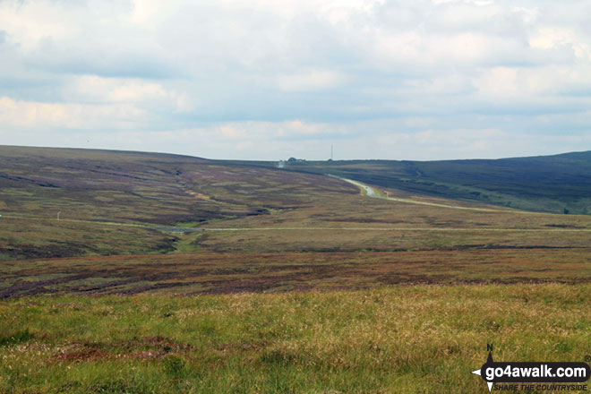 The Cat and Fiddle from Axe Edge (Axe Edge Moor)